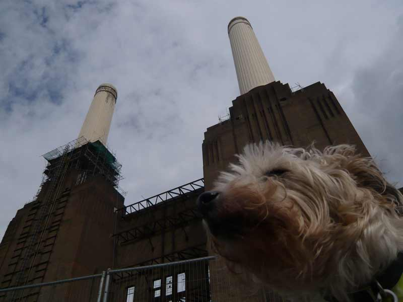 Battersea power station south elevation